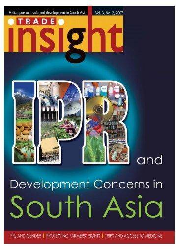 Vol. 3, No. 2, 2007 - South Asia Watch on Trade, Economics ...