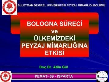 Sunum 3 - Orman Fakültesi - Süleyman Demirel Üniversitesi
