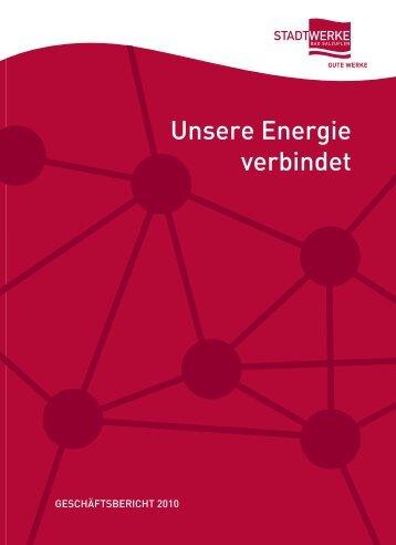 Unsere Energie verbindet - Stadtwerke Bad Salzuflen