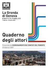 Quaderno inviato dal Coordinamento Comitati del ... - Urban Center