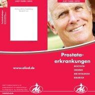 Prostataerkrankungen - Aliud Pharma GmbH & Co. KG