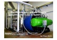 Sistemi energetici di piccola taglia, gassificazione e uso di ... - Energia