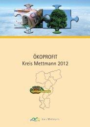 ÖKOPROFIT Kreis Mettmann 2012 - Ökoprofit NRW