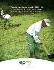 Gestión ambiental y social EPM 2011
