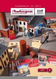 Planungshilfe Heft 2 herunterladen - Auhagen