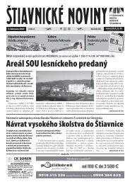 Štiavnické noviny 4 - Banská Štiavnica