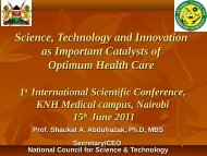 Science, Technology and Innovationas Important Catalysts of ...