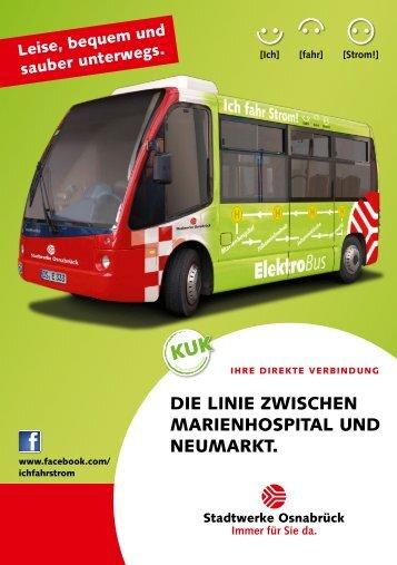 Umweltfreundlich mobil - Stadtwerke Osnabrück