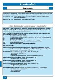 Fußschutz - Schweisstechnik Jurdzinski GmbH