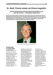 Interview Dr. Hans Seidl - Vinnolit
