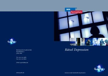 Rätsel Depression