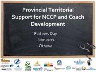 Coaching Support - Coaching Association of Canada