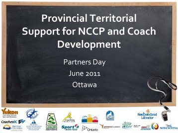 Coaching Support - Coaching Association of Canada