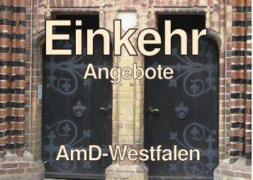 Angebote AmD-Westfalen - AmD: Amt für missionarische Dienste