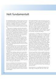 Helt fundamentalt - replik - Friskolebladet