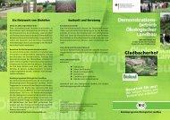 Wirzeigen Ihnen, wie Biobetriebe arbeiten! - Oekolandbau.de
