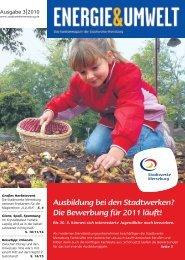 Ausbildung bei den Stadtwerken? Die ... - Stadtwerke Merseburg