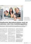 Ausbildung bei den Stadtwerken? Die ... - Stadtwerke Merseburg - Seite 5