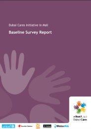 Baseline survey report - WASH in Schools