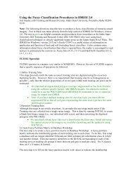 Sagebrush-Steppe Classification Using Fuzzy Logic Systems