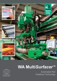 WA Roll Cladding Machine - The Welding Alloys group