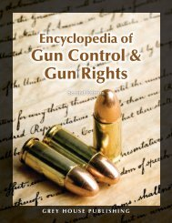 Gun Control & Gun Rights - Grey House Publishing