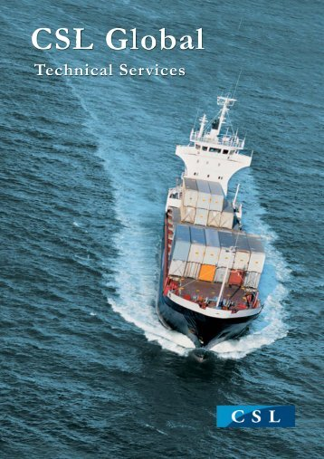 CSL Global Technical Services - Front Cover.psd