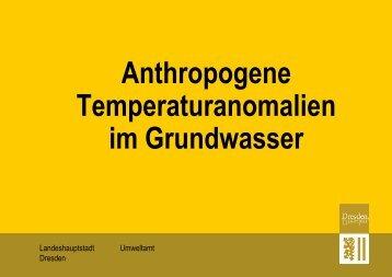 Einführung in das Thema - GWZ Dresden