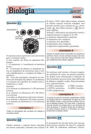 Biologia - Etapa