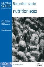 Baromètre santé nutrition 2002 - Inpes