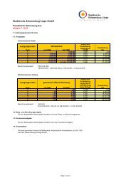 Preisblatt Netznutzung Gas ab 01.01.2012 - Stadtwerke  ...