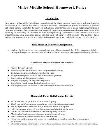 Sample High School Homework Policy Research - image 6