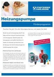 Jetzt beantragen und 50 € Zuschuss sichern! - Stadtwerke Karlsruhe