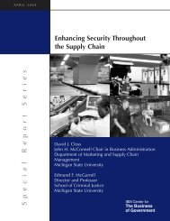 Enhancing Security Throughout the Supply Chain - IBM