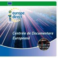 Broşura Centrelor de Documentare Europeană - Europa