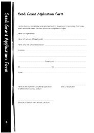 Seed Grant Application Form - POLICY Project