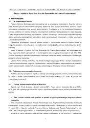 """Raport z realizacji """"Programu Ochrony Środowiska dla Powiatu ..."""