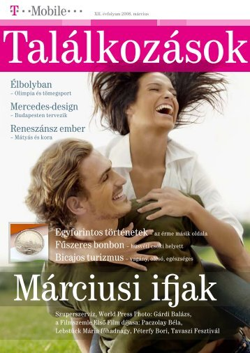 Találkozások magazin 2008. március - T-Mobile