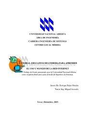UNIDAD I - Biblioteca Digital UNA - Universidad Nacional Abierta