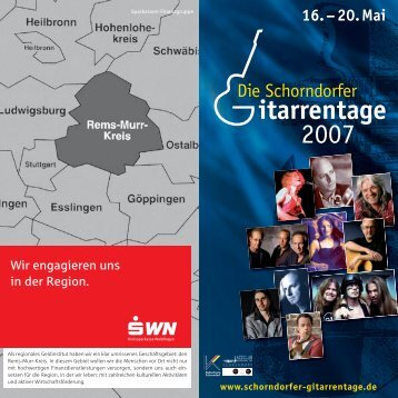 itarrentage 2007 - Kulturforum Schorndorf