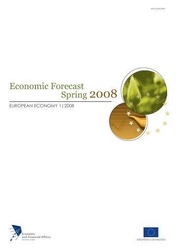 Economic Forecast Spring 2008 - Enterprise Europe Network