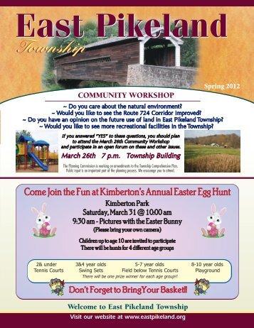 Kimberton Park - East Pikeland Township