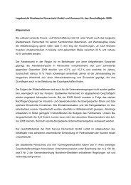 Lagebericht Stadtwerke Remscheid GmbH und Konzern