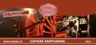 LOKPARK AMPFLWANG - Österreichische Gesellschaft für ...