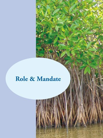 Role & Mandate - Ministry of Environment and Forests