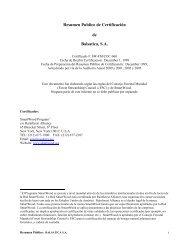 Resumen Publico de Certificación de Balsatica, S.A. - Rainforest ...