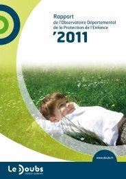 '2011 - Bienvenue sur la page d'accueil - Conseil général du Doubs