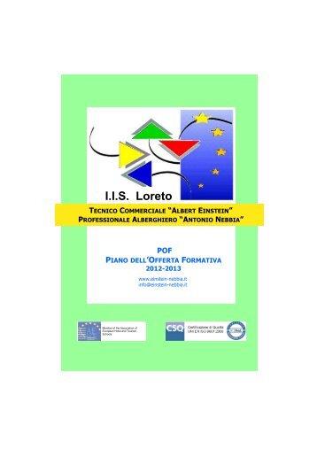 Piano offerta formativa a.s. 2012-2013. - Istituto EINSTEIN-NEBBIA