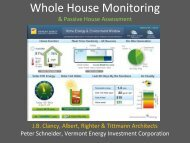 WHY BUILD GREEN? - Passive House Institute US