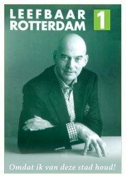 voor een betere stad - Leefbaar Rotterdam
